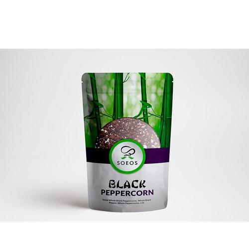 Packaging Peppercorn