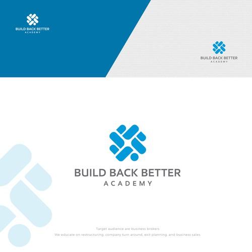 Logo Build Back Better Academy