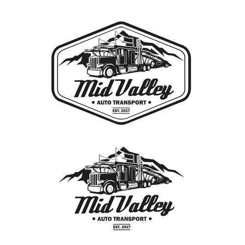 Bold logo for Mid Valley Auto Transport