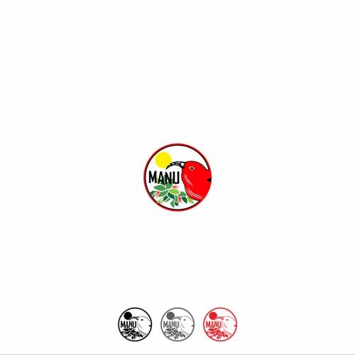 logo concept for sticker