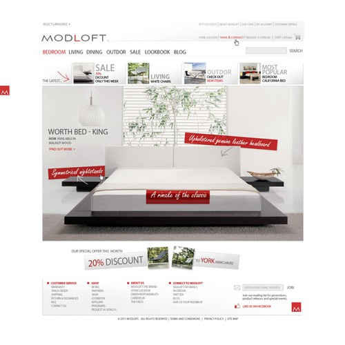 Help Create a State-of-the-Art Social Commerce Modern Furniture Site for Modloft