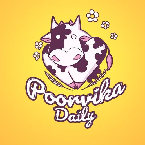 Cow logo design