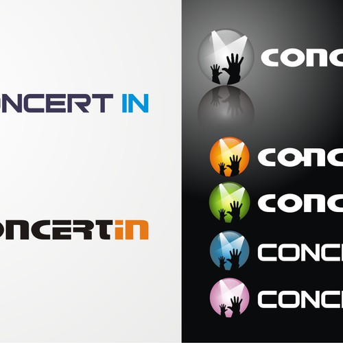 Logo for ConcertIn.com web site