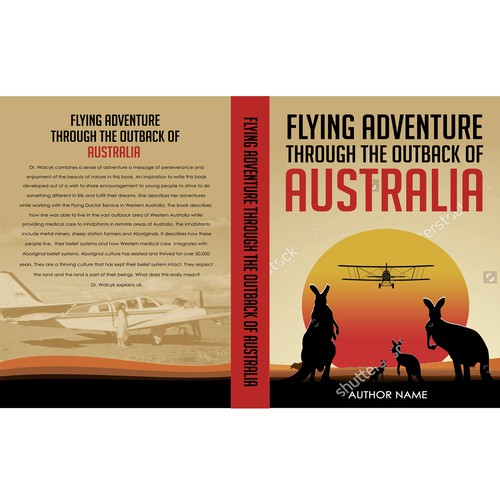 Flying Adventure Through The Outback Of Australia