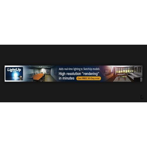 Banner Ad Design for Realtime lighting inside SketchUp