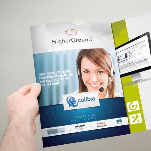 HigherGround Brochure Design