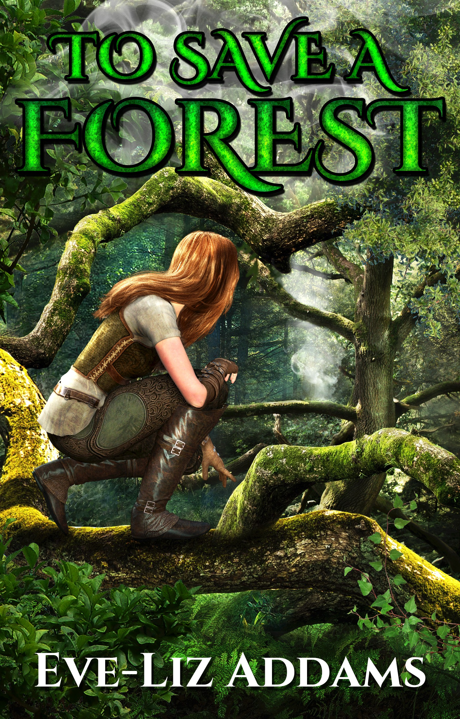 Ebook cover needed for fiction story To Save a Forest