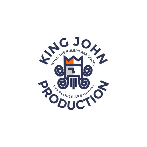 Logo for King John Production