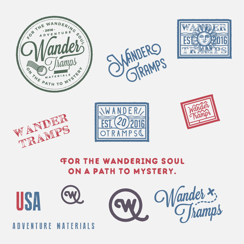 WanderTramps Stamps