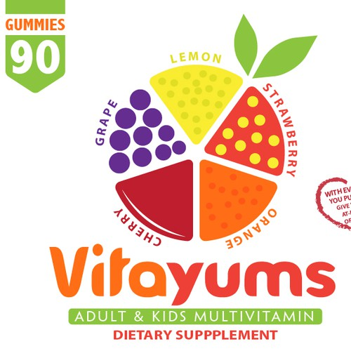 AMAZING vitamin product label needed for socially conscious business: vitaminAid