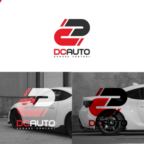 AUTOMOTIVE DC auto repair logo