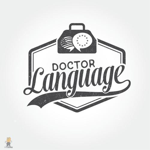 Winning logo for Doctor Language