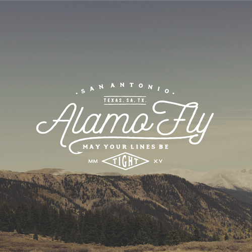 Logo for Alamo Fly.