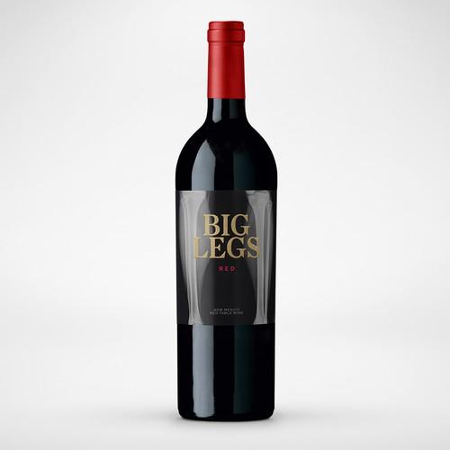 Fun & Elegant Wine Label