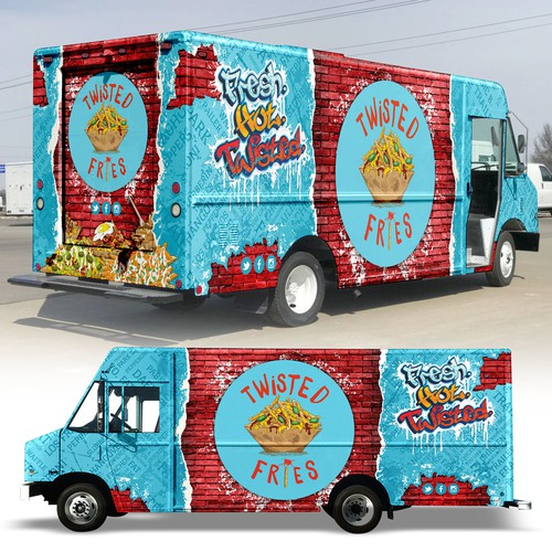 "food truck design ""twisted fries"""