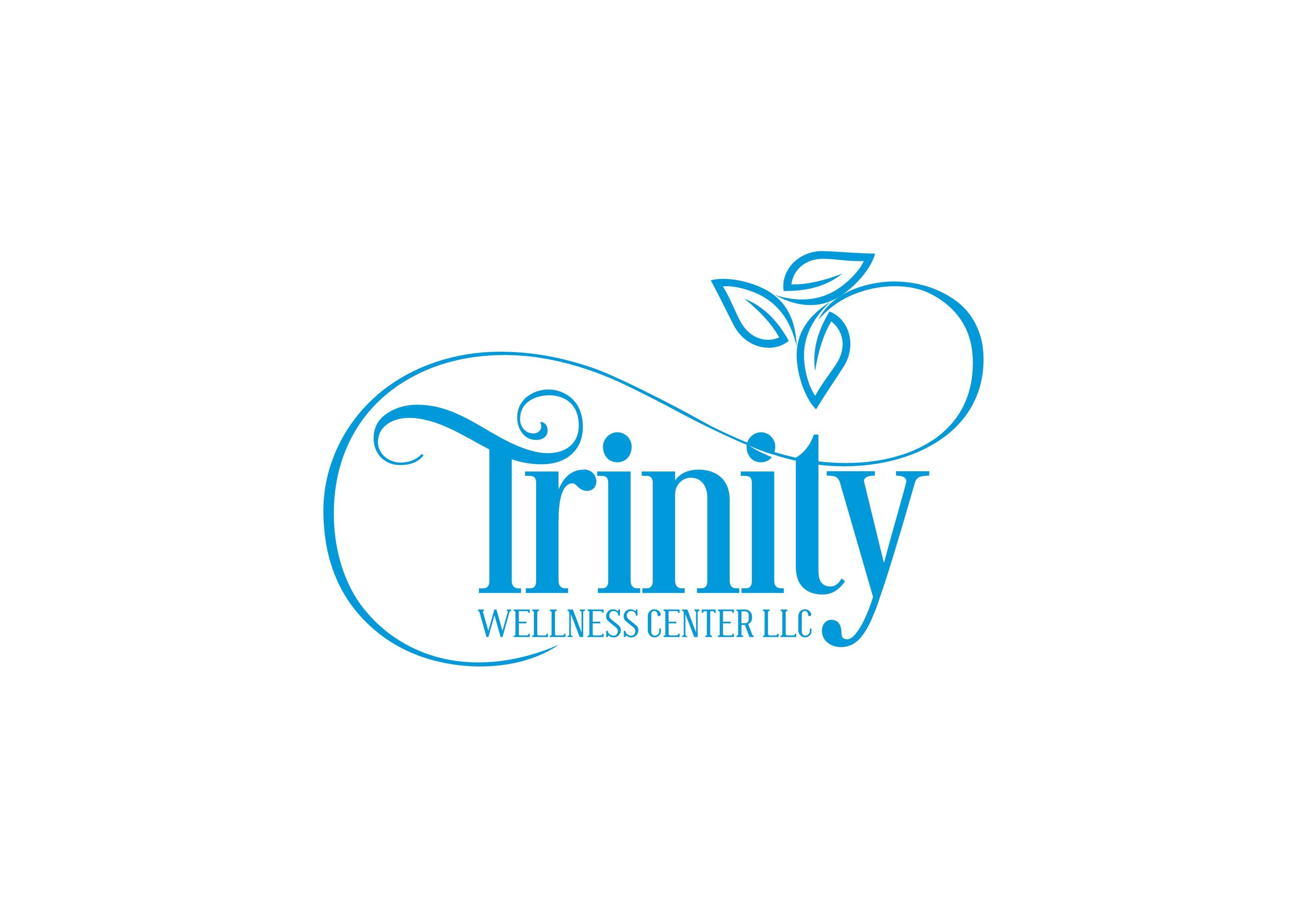 Create a captivating elegant earthy logo design for Trinity Wellness Center