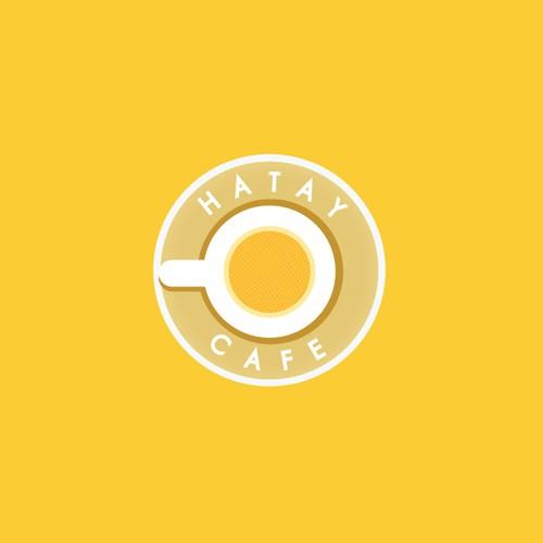 HATAY CAFE logo concept