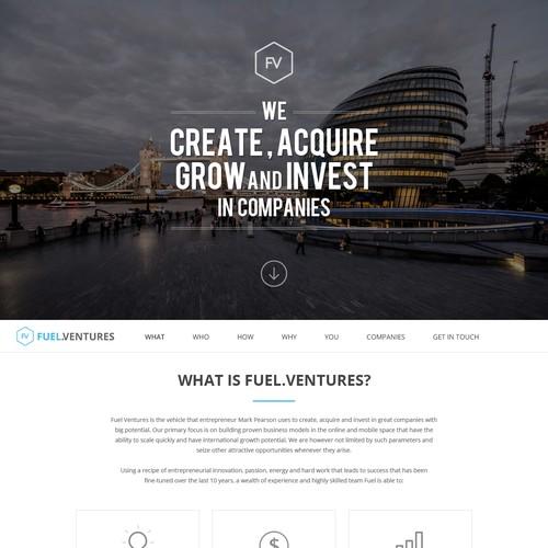 Fuel.Venture Website