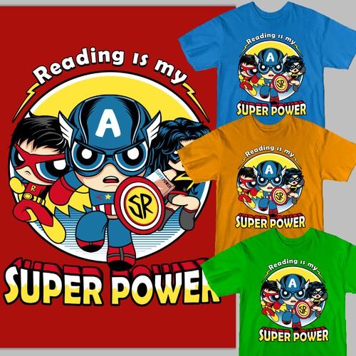 Superhero themed T-Shirt design needed