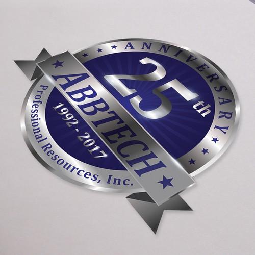 ABBTECH 25 Year Anniversary Logo