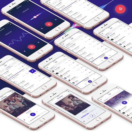 Audio Recording iOS App for Musicians