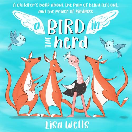 Book cover design for children book