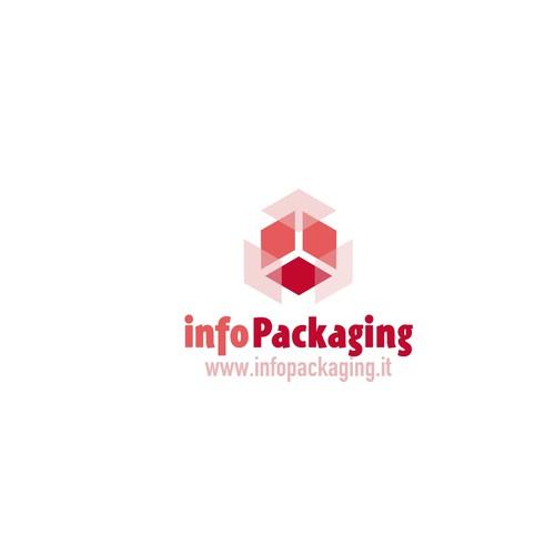 proposta di logo per un portale sul packaging