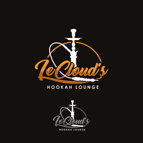 Logo concept for a hookah lounge