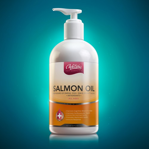 Salmon Oil, Pet Oil