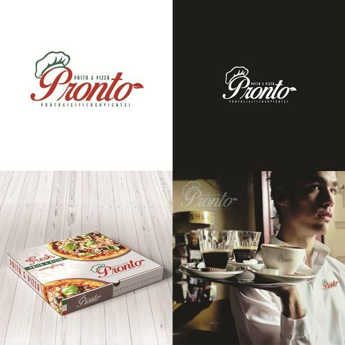 Einzigartiges Logo für frische Italienische Küche