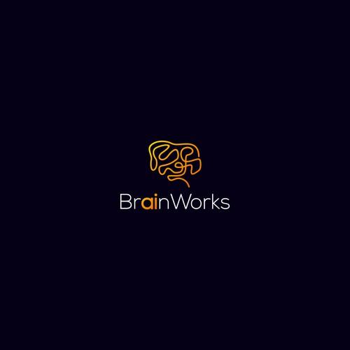 Design a logo for BrainWorks