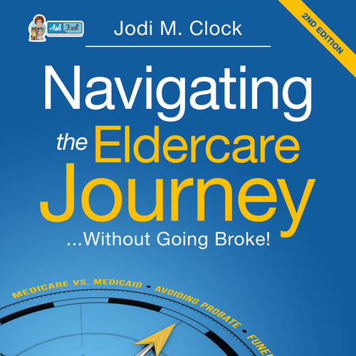 1-on-1 Project: Book Cover about ElderCare 2nd Edition