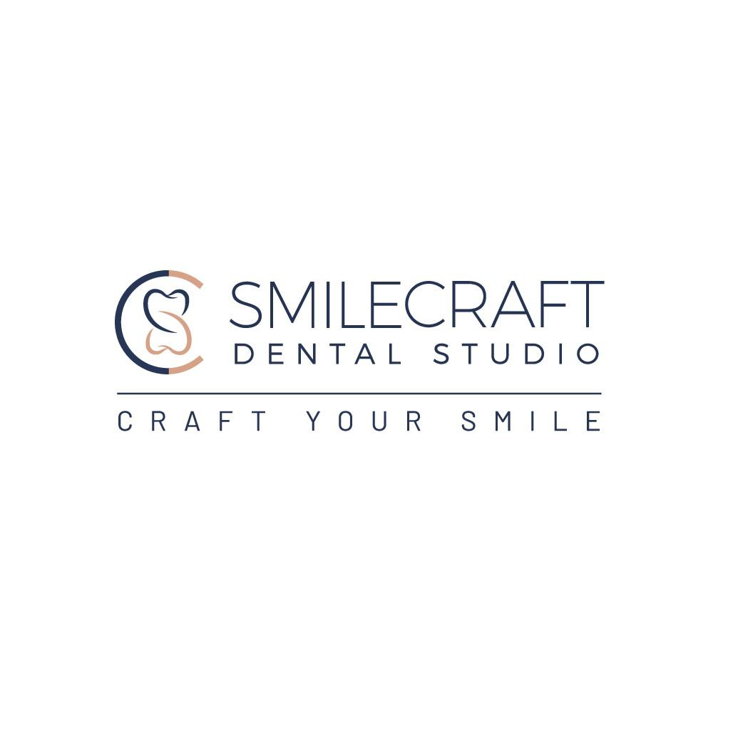 SmileCraft Dental Studio LOGO DESIGN! Sleek modern new office