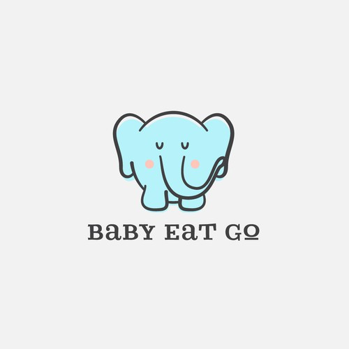 Logo concept for Baby Eat Go