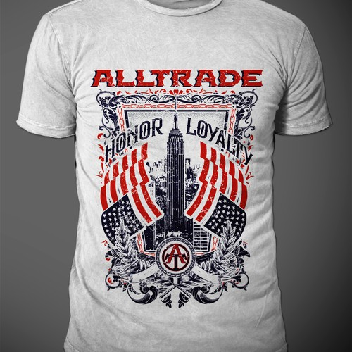 Alltrade  t-shirt design
