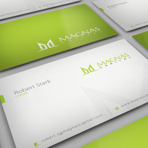 Create the next stationery for Magnas Capital