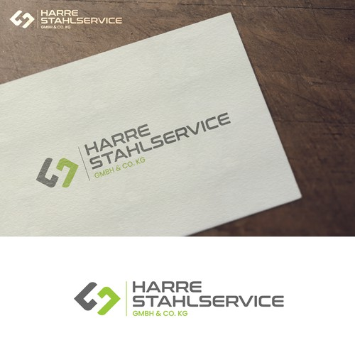 Logo design for Harre Stahlservice