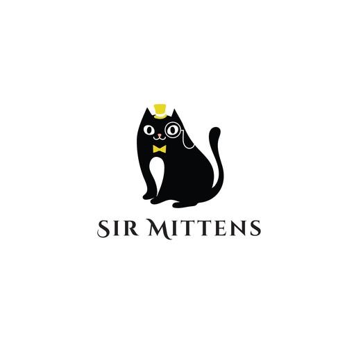 Logo for cat accessory company