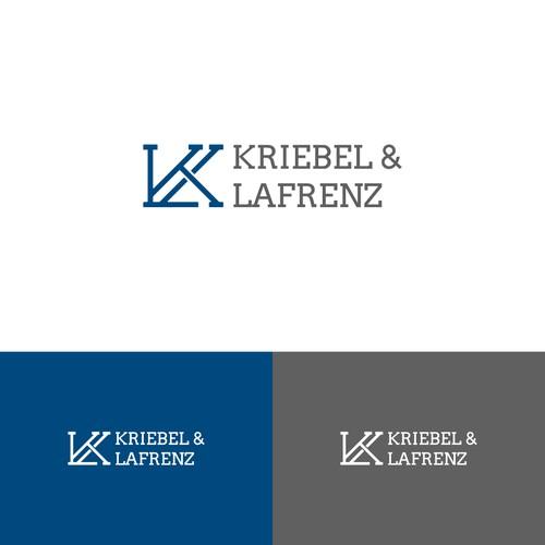 Kriebel n Lafrenz logo concept