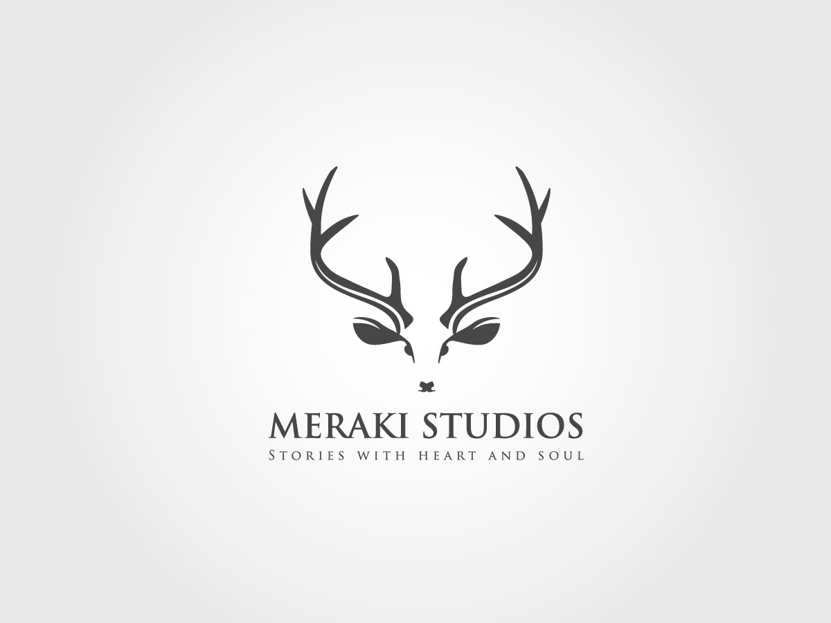 Timeless and simple logo for Meraki Studios