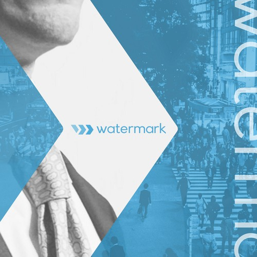 Clean, minimalist design for Watermark Consulting