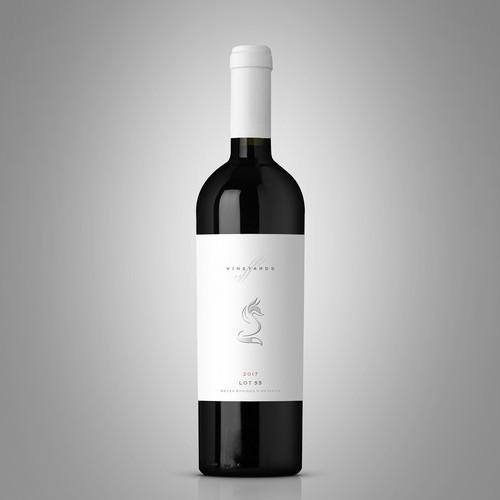 Seven Springs Vineyards label