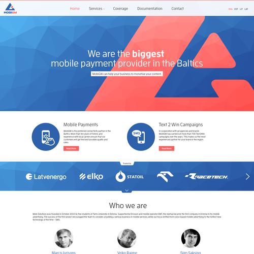 Design for a mobile provider