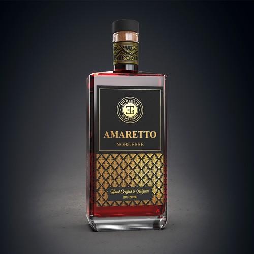 Premium Belgian Organic Amaretto Spirit