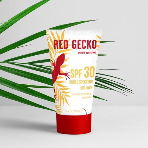Red Gecko Sunscreen