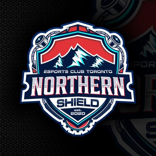 Northern Shield logo esports team