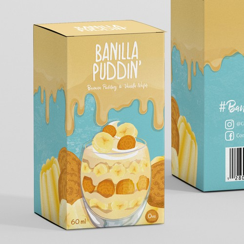 Design for a Confectionery Eliquid Company
