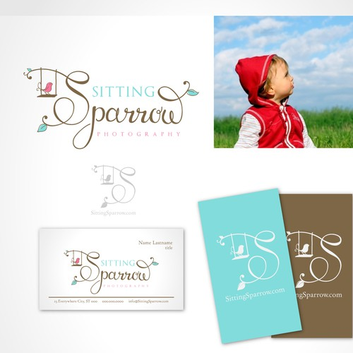 Sitting Sparrow Photography logo