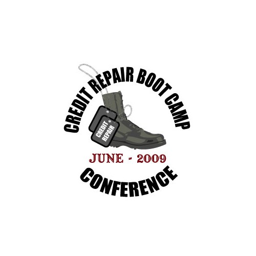 Logo Concept for Credit Repair Boot Camp