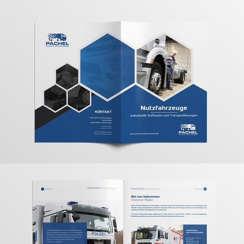 Commercial Vehicle Brochure and Catalog